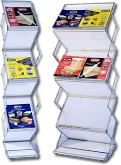 Literature Stands are a great, affordable way to provide handouts, flyers, and promote your business