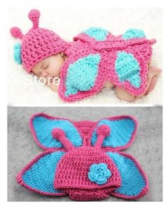 Hot Cute Baby Infant Butterfly Knitted Costume Photo Photography Prop Newborn L | eBay