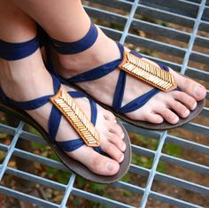 Spice up your @Sseko Designs sandals with this chic mojave leather accessory!