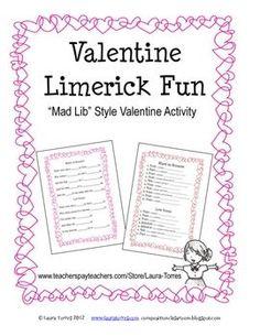 Valentine Limerick Fun. FREE