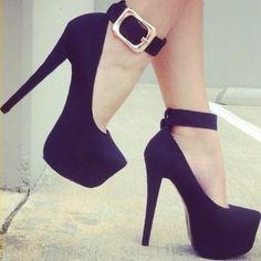 Great looking black heels.