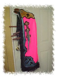 bull riding chaps with cross | Bull Riding Chaps, Rough Stock, Mutto Bustin Chaps, Custom Rodeo Chaps ...