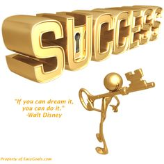 """""""If you can dream it, you can do it."""" -Walt Disney   What are you dreaming about? #easygoals   http://easygoals.com/"""