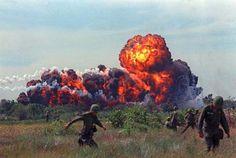 The Napalm, the killer bomb in Vietnam war