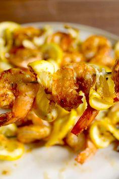 Cajun Shrimp Kebabs  - Delish.com