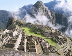 Machu Picchu - well, all of Peru