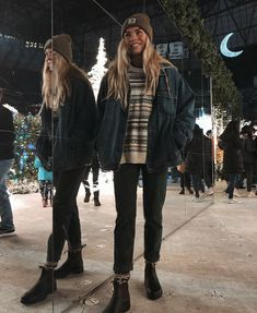 Fall Winter Outfits, Autumn Winter Fashion, Surfergirl Style, Mode Outfits, Fashion Outfits, Mode Grunge, Granola Girl, Mode Ootd, Outfit Invierno