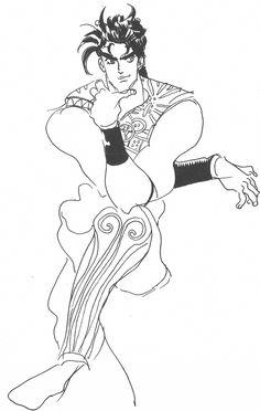 Araki Doodles - Part 2 - Battle Tendency