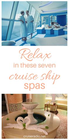 #spa #cruise #cruiseship #travel #vacation