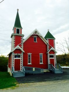 The little red church, PA Grand Canyon.