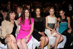 Paula Patton, Jessica Alba, Debra Messing, Anjelica Huston, Amber Heard