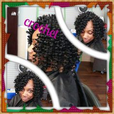 Crochet Braids Indianapolis : Crochet Braid Bantu Love Your Hair Pinterest Hair, Braids ...