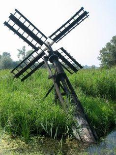 Polder mill De Foeke, Sint Jansklooster, the Netherlands