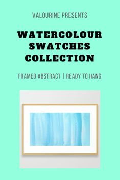 20 Best Sennelier Swatches Watercolour Framed Art Prints Ready To Hang images Simple Watercolor, Watercolor Sunset, Butterfly Watercolor, Watercolor Trees, Watercolor Pattern, Abstract Watercolor, Abstract Canvas, Artwork Paintings, Artwork Wall
