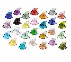 Lalique fish - 27 colours