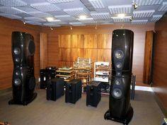 VTL monobloc's and Rockport technologies Arrakis speakers