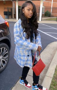 - Source by - Boujee Outfits, Baddie Outfits Casual, Swag Outfits For Girls, Teenage Girl Outfits, Cute Swag Outfits, Dope Outfits, Teen Fashion Outfits, Pretty Outfits, Nike Air Jordan