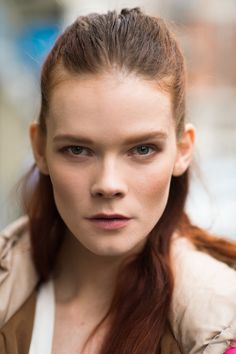 The contouring on this model brought out her bone structure.  Source: Le 21ème | Adam Katz Sinding