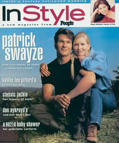 InStyle Magazine Covers: 1994 - July, Patrick Swayze and Lisa Niemi from #InStyle (Patrick would later pass away in 2009 from pancreatic cancer.  Patrick, you are sorely missed.)