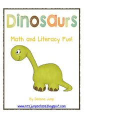 RAWR!  Your little paleontologists will love this fun unit!  To view pictures from this unit visit my blog at www.mrsjumpsclass.blogspot.com and lo...