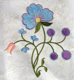 crewell Embroidery designs | Crewel Embroidery Designs