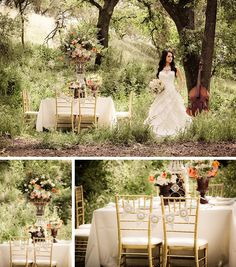Budget Vintage Romantic Wedding Inspiration by Jamie Bearg Photography