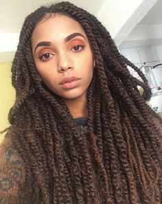 Celebrities and Their Hair Braids Marley Twist Hairstyles, Black Girls Hairstyles, Afro Hairstyles, Summer Hairstyles, Marley Twists, Marley Braids, Twist Styles, Braid Styles, Dreadlocks