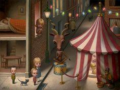 """Night Fair,"" Marion Peck, 2015"