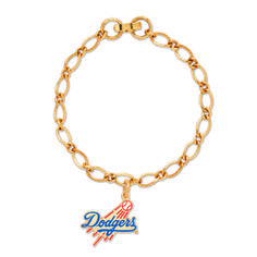 Los Angeles Dodgers Charm Bracelet - Sunset Key Chains
