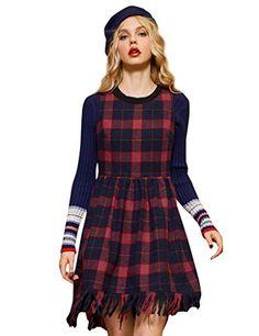 Elf Sack Women's Winter Crewneck Plaid Woolen Tank Dress ... https://www.amazon.com/dp/B01M17PIWC/ref=cm_sw_r_pi_dp_x_.9k6xbH5FQXZB