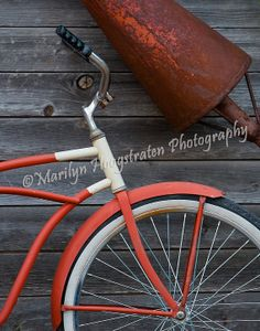 Items similar to Fine art print -Red Bike at Fishtown, Leland, Michigan on Etsy Retro Futurism, Fine Art Prints, Bicycle, Future, Trending Outfits, Unique Jewelry, Handmade Gifts, Illustration, Red