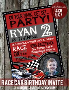 Hot Wheels Invitation Template Printable IN Hot Wheels - Homemade hot wheels birthday invitations