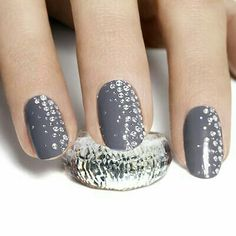 39 Best Nail Art Glitter Images On Pinterest Pretty Nails