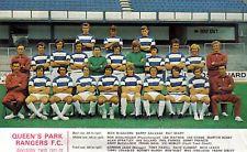 QPR FOOTBALL TEAM PHOTO 1971-72 SEASON