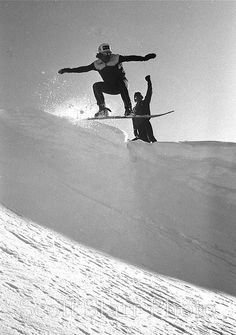 Chuck Barfoot, 1984 by Vintage Snowboards, via Flickr