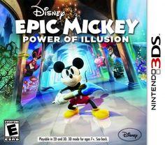Disney Epic Mickey 2 - 3DS,. Compra en línea fácil y seguro. www.kemik.gt #Kémik