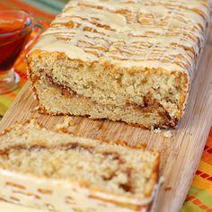 Liv Life: Maple Glazed Coffee Cake- very good! Delicious Cake Recipes, Fun Baking Recipes, Yummy Treats, Sweet Recipes, Yummy Food, Sweet Treats, Breakfast Items, Breakfast Cake, Sweet Breakfast