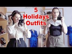 Christmas is almost here and i'm pretty sure some outfit ideas would be helpful. I tried different styles, and of course, i added a little bit of creativity . Christmas Outfits, Elegant, Videos, Casual, Youtube, How To Wear, Classy, Christmas Day Outfit, Youtubers