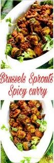 Brussels Spout Spicy Curry