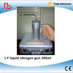 130.86$  Buy here - http://alia20.worldwells.pw/go.php?t=32737587173 - LY liquid nitrogen gun 300ml with cold tip 9 pcs needle tip 1 pc with original suitcase