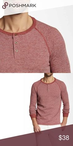 Threads 4 Thought Thermal Henley soft, henley style long sleeve thermal tee, lightweight to wear all year and thick enough to wear in the winter as a layered look, fits like a large  🛒Limited quantities. ❓Please ask all your questions before you buy so I can make your purchase absolutely perfect. Threads 4 Thought Shirts Sweatshirts & Hoodies