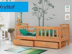 Dětská postel Kryštof 80x184 cm Porch Swing, Outdoor Furniture, Outdoor Decor, Bench, Storage, Home Decor, Homemade Home Decor, Larger, Benches