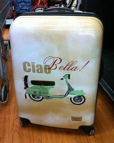 Ciao Bella Scooter Vespa Suitcase Rollie
