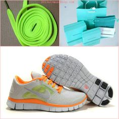 a7f5c74cb5a27 Nike Free Runs 3 Grey Reflect Silver Orange
