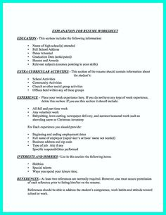 nice making simple college golf resume with basic but effective information check more at http