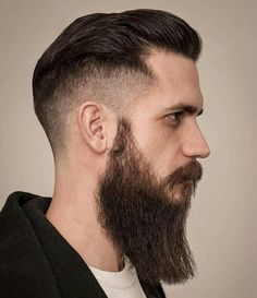 Drop Fade Haircut for an Ultimate Stylish Look. Drop fade haircuts for men are going to be a big hit in the summer season this year. Drop Fade Haircut, Fade Haircut Styles, Long Beard Styles, Tapered Haircut, Short Hair Styles, Mens Hairstyles Fade, Side Swept Hairstyles, Modern Hairstyles, Medium Hairstyles