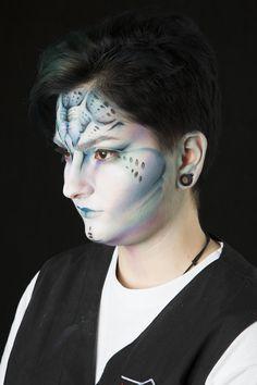Makeup made by me @ Accademia Teatro alla Scala  Model: Barbara  make up design by Gloria Bordin Art 906