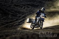 2015 Triumph Tiger 800 XCx off-road action