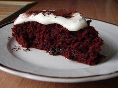 Můj blond blog: Brutální brownies z červené řepy s tvarohem