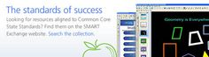 SMART Exchange - Lesson Plans for Your SMART Board - Search by Common Core Standards to get to the good stuff